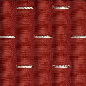 BROCHIER Home decor textile - Interior Design Fabric J2256 BRUCE 017 Corallo