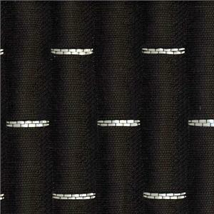 BROCHIER - Interior Design Fabric J2256 BRUCE 028 Nero