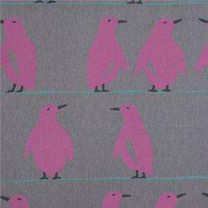 BROCHIER - Interior Design Fabric J2503 PINGUINO 002 Grigio
