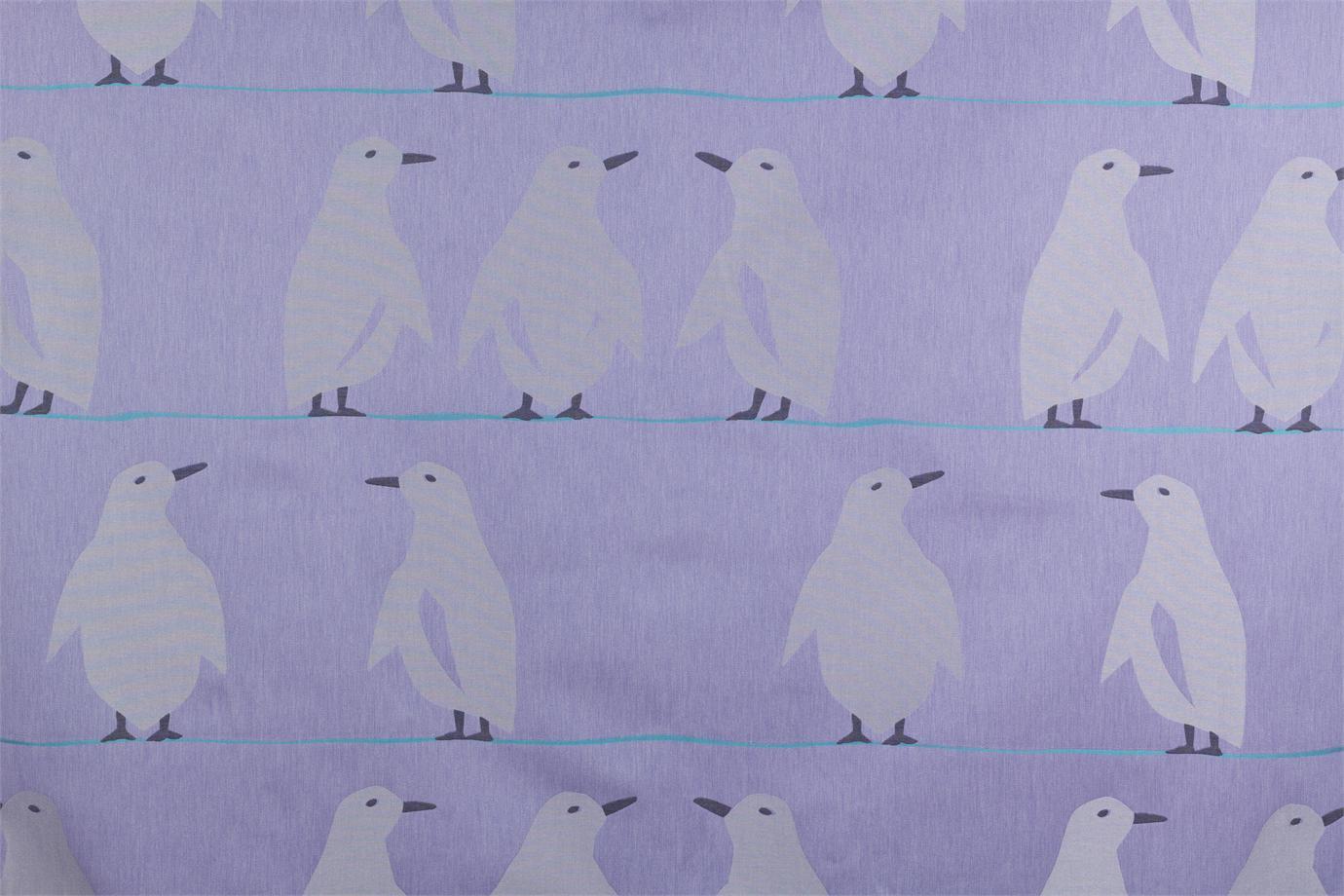 J2503 pinguino 003 glicine brochier for Tende lilla glicine