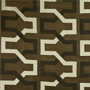 BROCHIER - Interior Design Fabric - Home Textile J2686 ONDINA 003 Marron-glace'