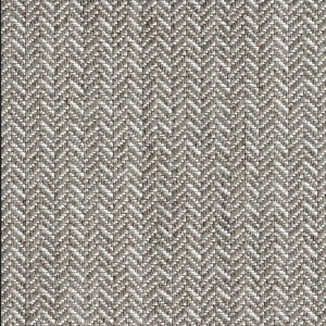 BROCHIER - Interior Design Fabric - Home Textile J2834 CHEVRONINO 002 Bianco tortora