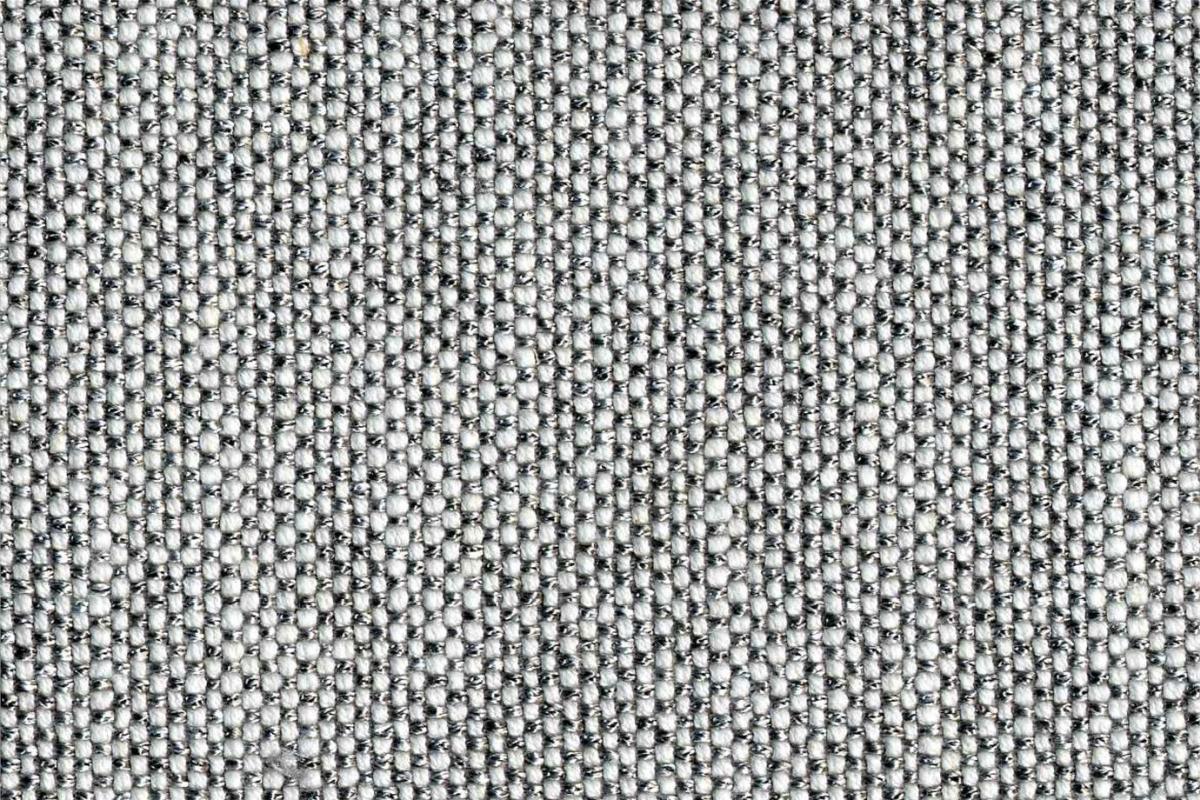BROCHIER Home decor textile - Interior Design Fabric J2839 GINA 002 Argento
