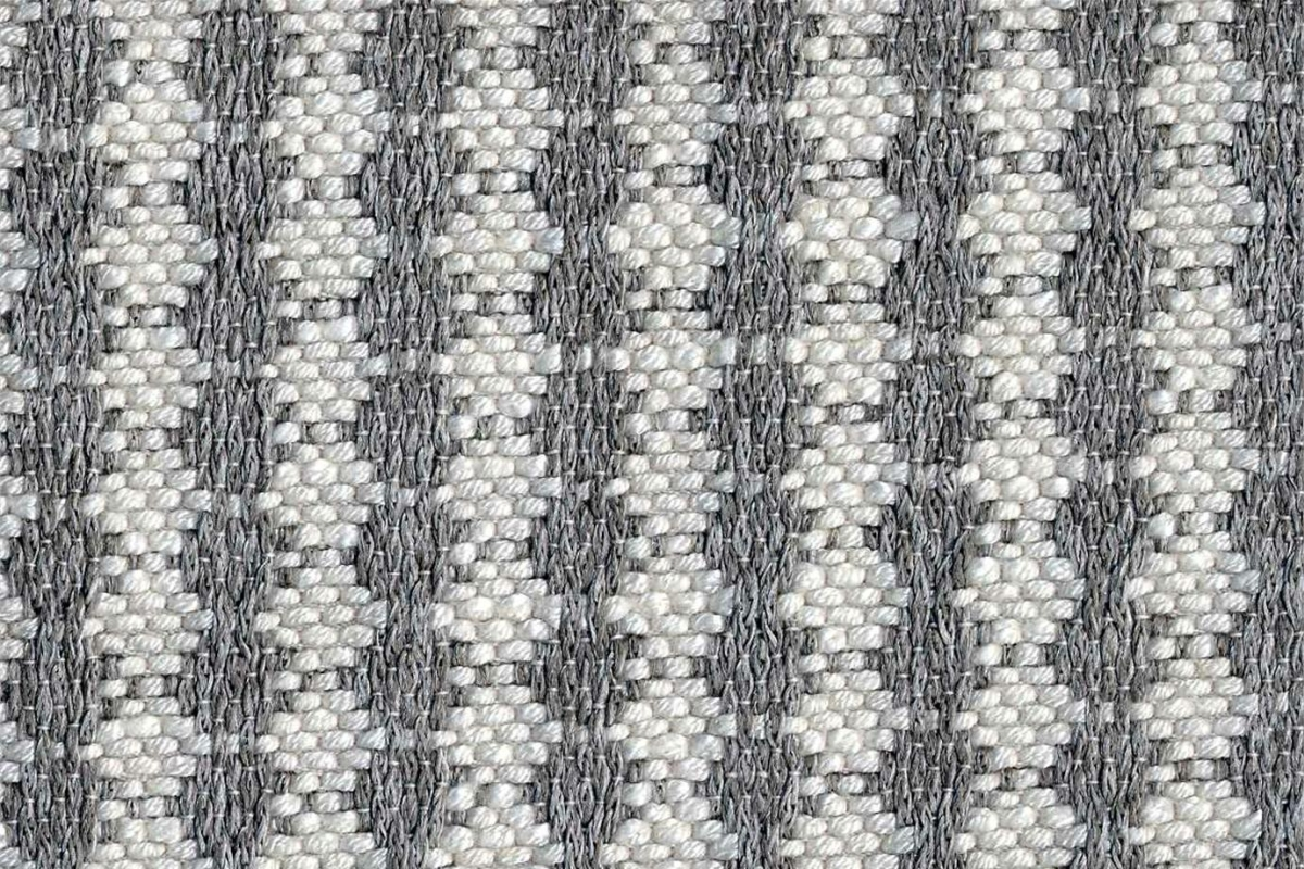 BROCHIER Home decor textile - Interior Design Fabric J2840 SOFIA 002 Argento