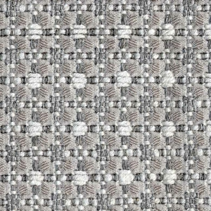 BROCHIER - Interior Design Fabric - Home Textile J2841 CLAUDIA 002 Argento