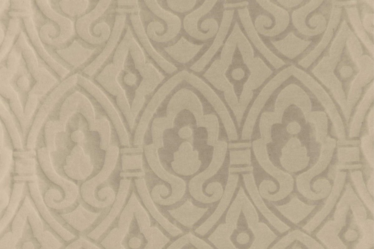 BROCHIER Home decor textile - Interior Design Fabric J2925 ORSA 002 Nocciola