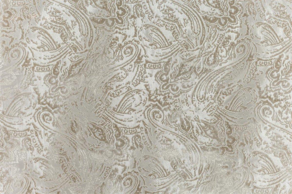 BROCHIER Home decor textile - Interior Design Fabric J2937 TERZO 001 Argento