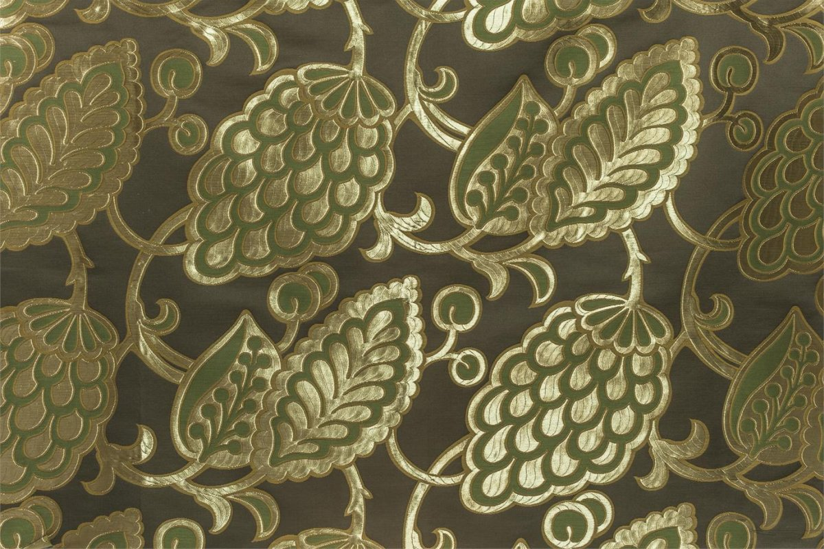 BROCHIER Home decor textile - Interior Design Fabric J2969 ANITA 003 Moro