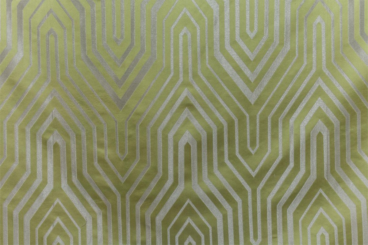 BROCHIER Home decor textile - Interior Design Fabric J2970 KATHERINE 002 Aloe
