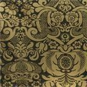 BROCHIER - Interior Design Fabric - Home Textile J2974 AUDREY 002 Nero