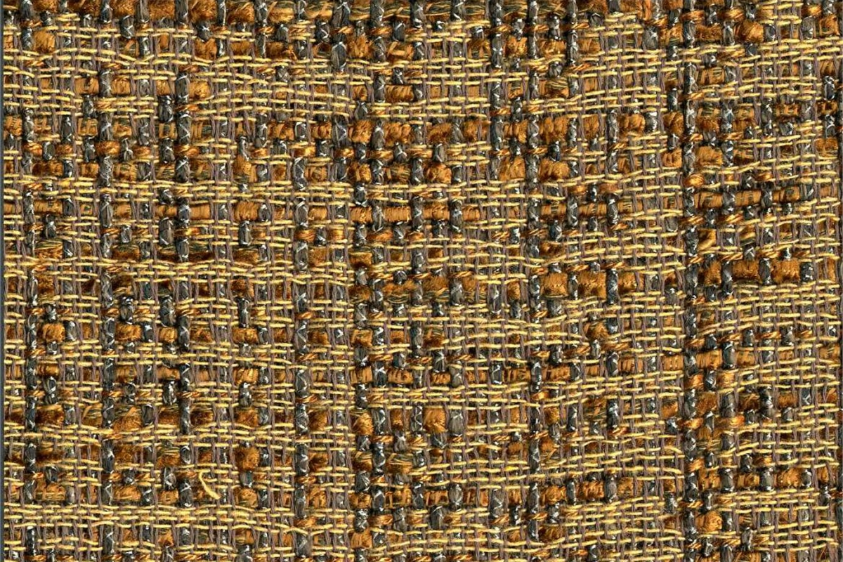 BROCHIER Home decor textile - Interior Design Fabric J2994 JANE 003 Ruggine