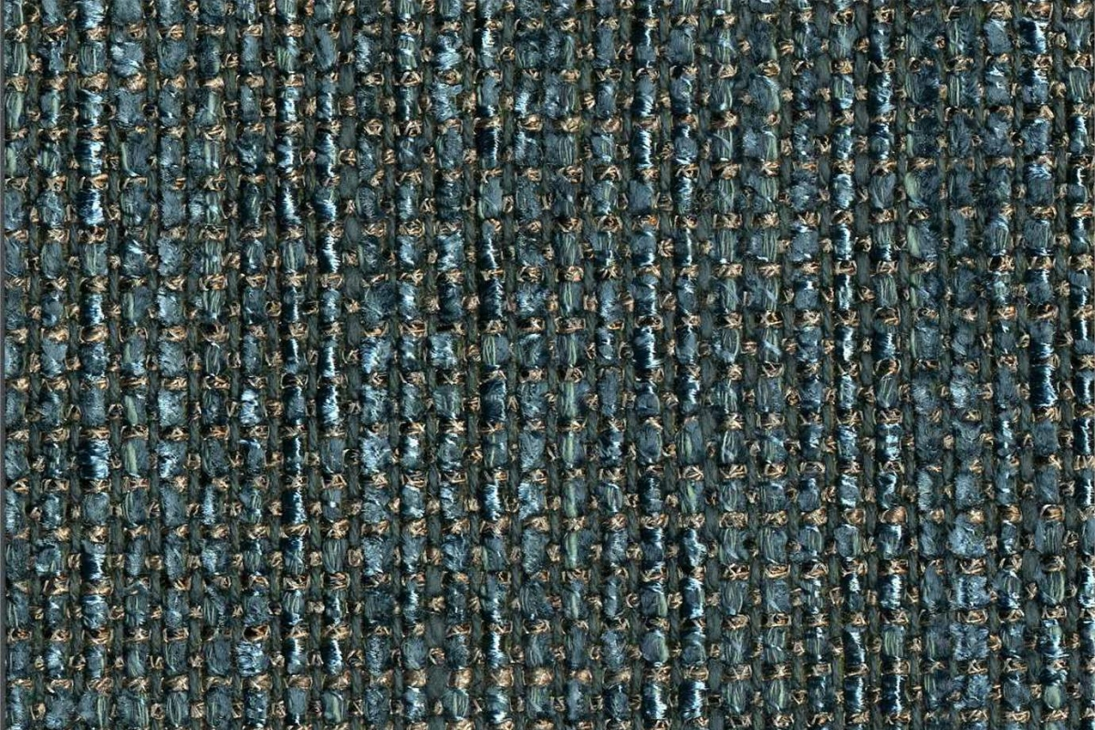 BROCHIER Home decor textile - Interior Design Fabric J2995 LIZ 005 Petrolio
