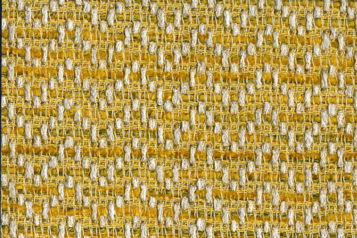 BROCHIER Home decor textile - Interior Design Fabric J2996 VANESSA 004 Limone
