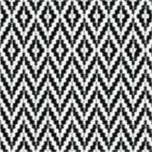 BROCHIER Home decor textile - Interior Design Fabric J3148 RE 002 Nero