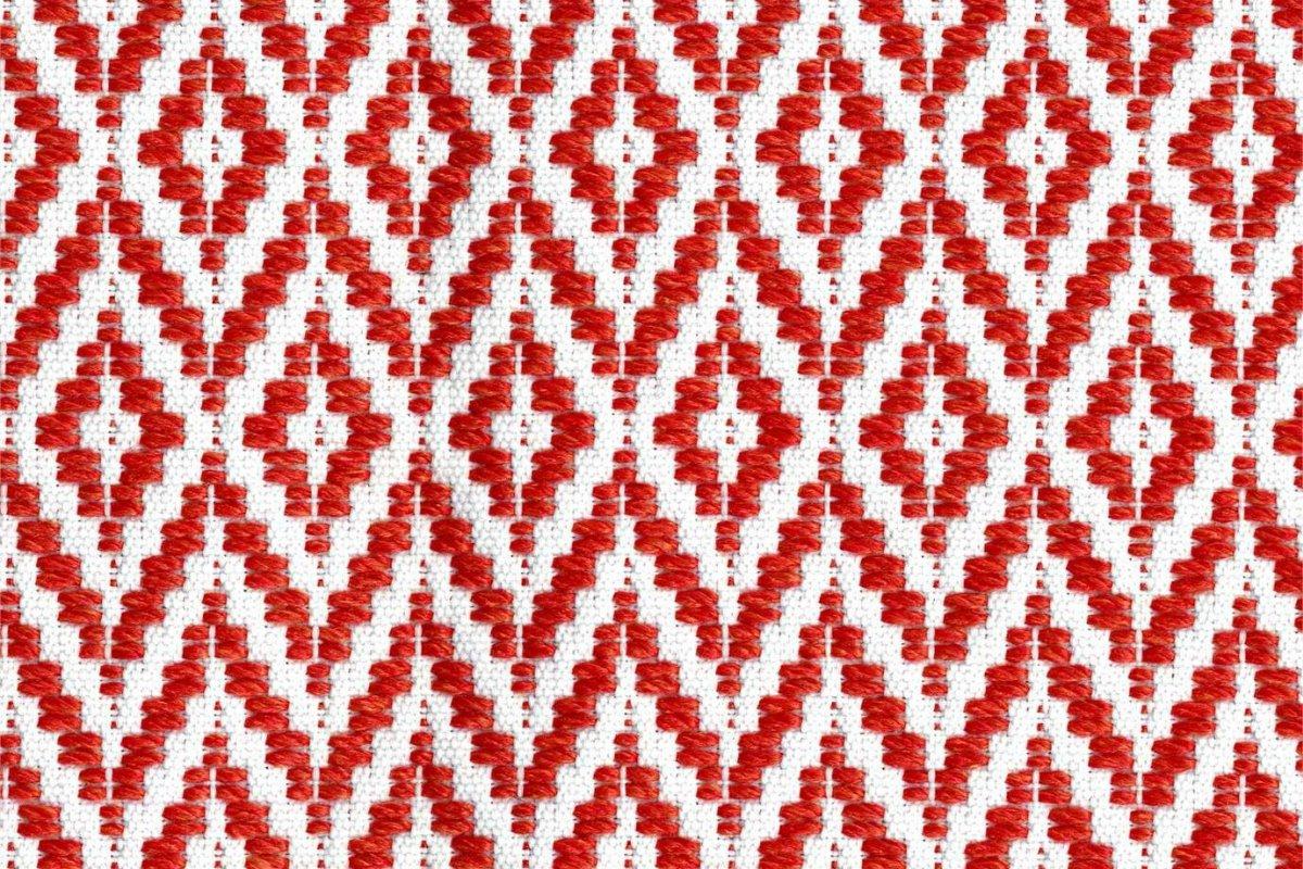 BROCHIER Home decor textile - Interior Design Fabric J3148 RE 003 Corallo
