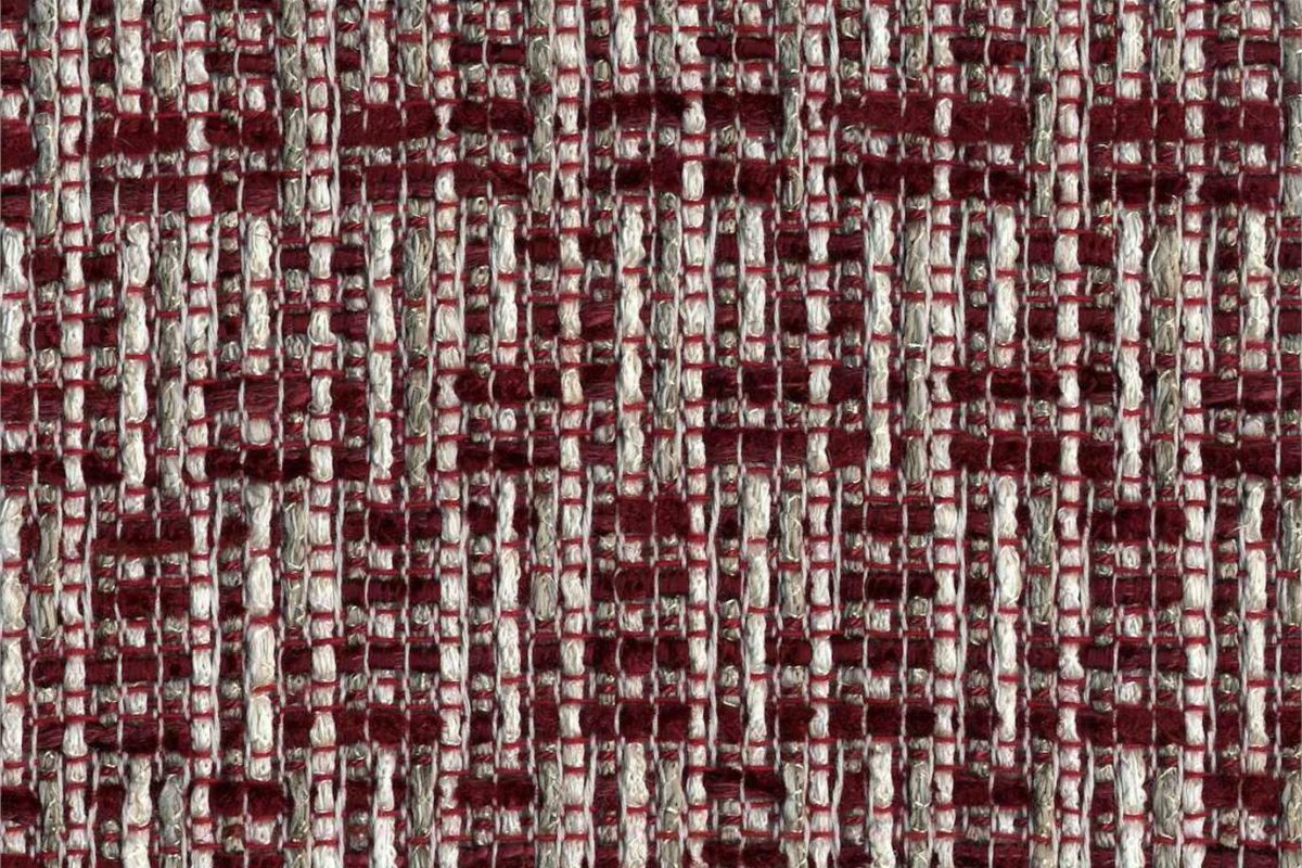 BROCHIER Home decor textile - Interior Design Fabric J3261 GRU 004 Rosso
