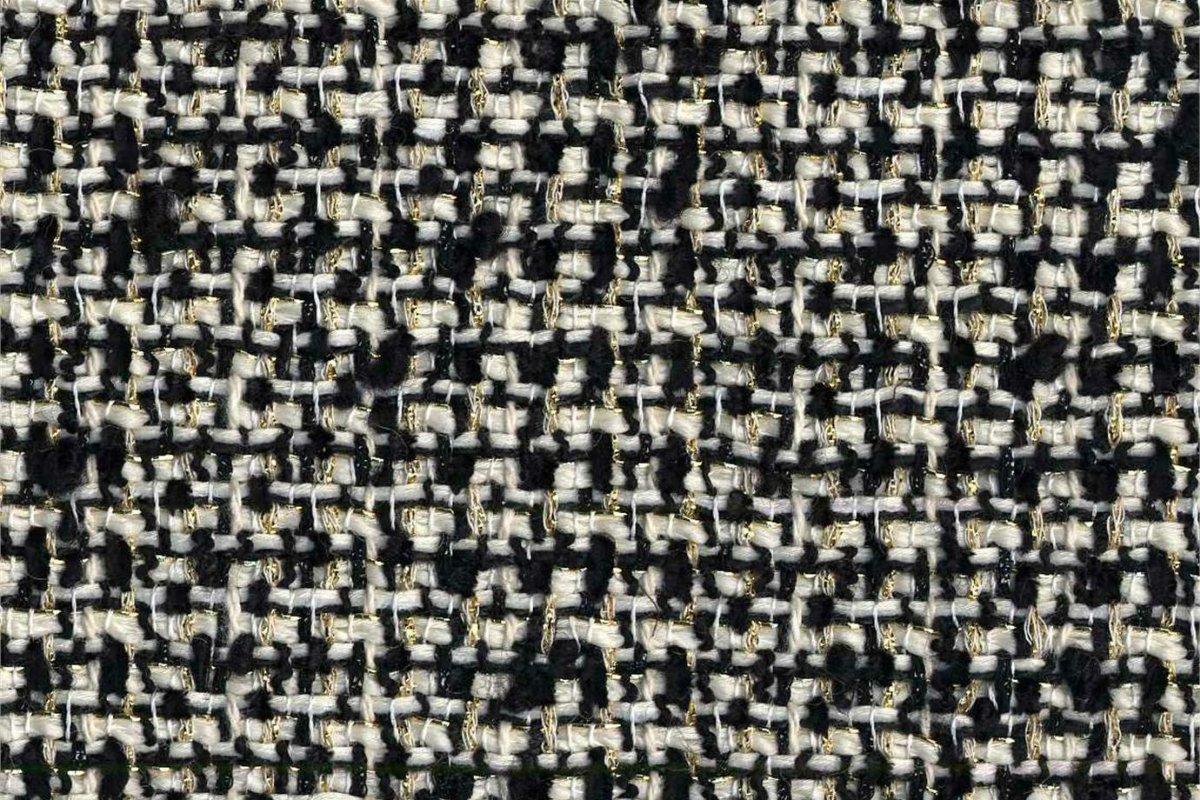 BROCHIER Home decor textile - Interior Design Fabric J3265 PAVONE 001 Panna