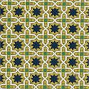 BROCHIER Home decor textile - Interior Design Fabric J3266 ANDROMEDA 002 Sole
