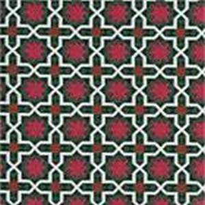 BROCHIER Home decor textile - Interior Design Fabric J3266 ANDROMEDA 003 Smeraldo