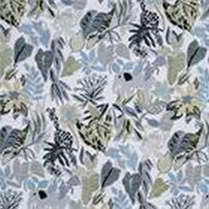 BROCHIER Home decor textile - Interior Design Fabric J3454 GIUNGLA 001 Perla