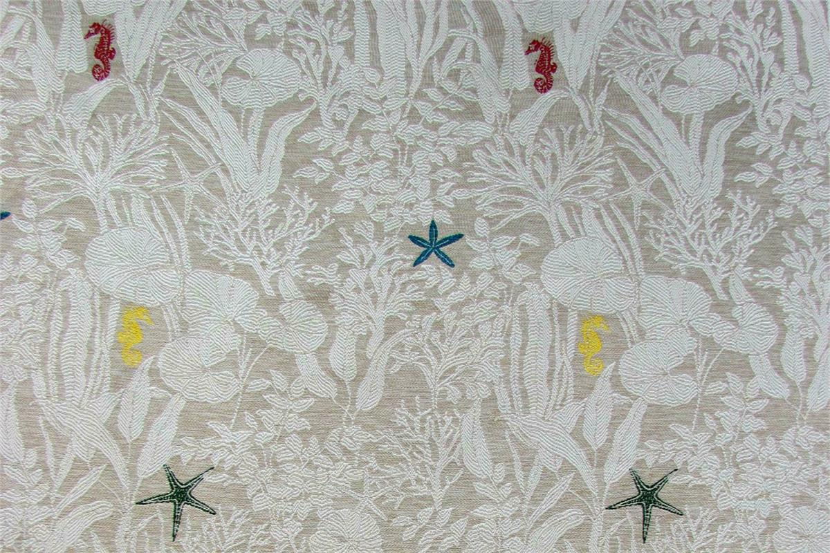 BROCHIER Home decor textile - Interior Design Fabric J3490 MOJITO 002 Sabbia