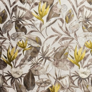 BROCHIER Home decor textile - Interior Design Fabric J3540 MORGANA 002 Tortora