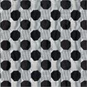 BROCHIER Home decor textile - Interior Design Fabric J3548 DAMA 002 Nero