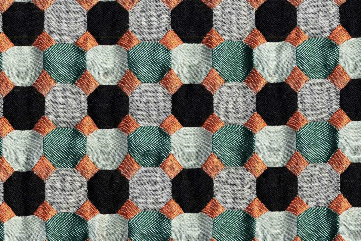 BROCHIER Home decor textile - Interior Design Fabric J3548 DAMA 004 Salvia