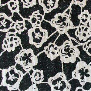 BROCHIER - Interior Design Fabric - Home Textile J3668 DUMBO 001 Bianca/nera
