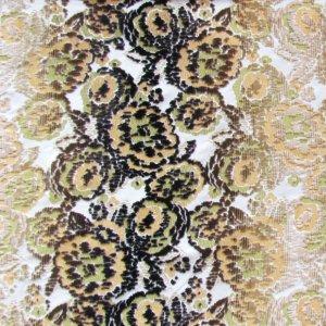 Tissu d'ameublement J3812 MIMETIC FLOWER 001 Gialla