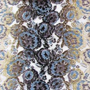 Tissu d'ameublement J3812 MIMETIC FLOWER 003 Vinaccia