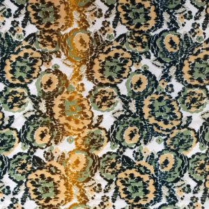 J3812 MIMETIC FLOWER 004 Verde home decoration fabric
