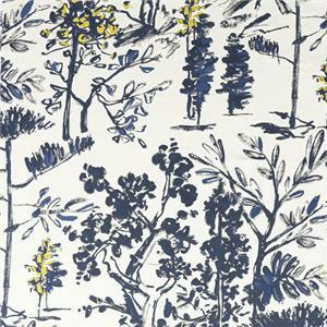 J5032 MATISSE 006 Blu home decoration fabric