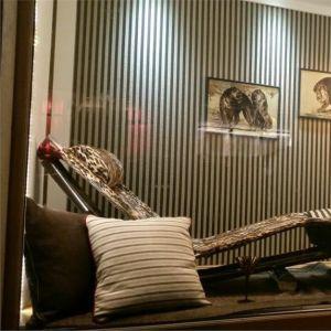 BROCHIER Home decor textile - Interior Design Fabric J3253 SIRIO 002 Caramello in situation